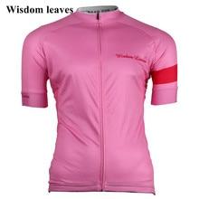 Wisdom leaves 2019 Для женщин Велосипеды Джерси футболка roupa Для женщин кофта для велоспорта снаряжение для велоспорта команды Велосипеды одежда велосипедная майка