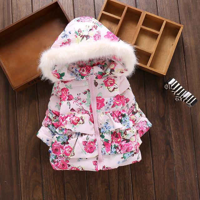 Baby Girls Hooded Jacket