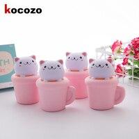 2017 새로운 브랜드 13.5 센치메터 점보 핑크 컵 고양이 보지 스