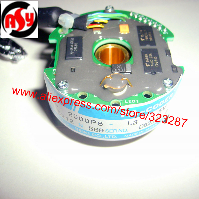 BRAND-NEW  TS5212N569  Komori Shaft Rotary Encoder  Resolver  OIH 48-2000P8-L3-5V brand new a155 6 48 288