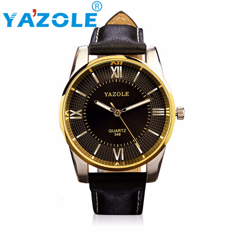 YAZOLE Wrist Watch Men 2017 Top Brand Luxury Famous Wristwatch Male Clock Quartz Watch Quartz Watch Relogio Masculino #A99
