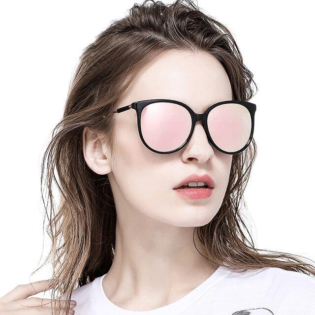 d9b9211e6f73 NTIWEIAO BRAND DESIGN Classic Sunglasses Womens Oversized Frame HD Casual  Sunglasses UV400 Sun glasses