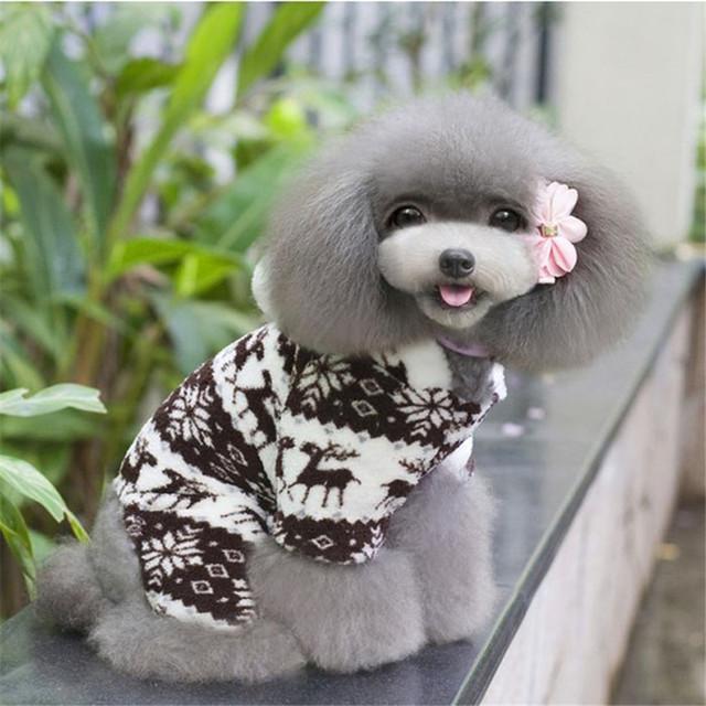 Pet Dog Warm Clothes