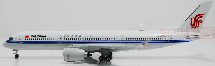 Phoenix 11015 China International Aviation B-6688 1:400 A350-900 commercial jetliners plane model hobby phoenix 11037 b777 300er f oreu 1 400 aviation ostrava commercial jetliners plane model hobby