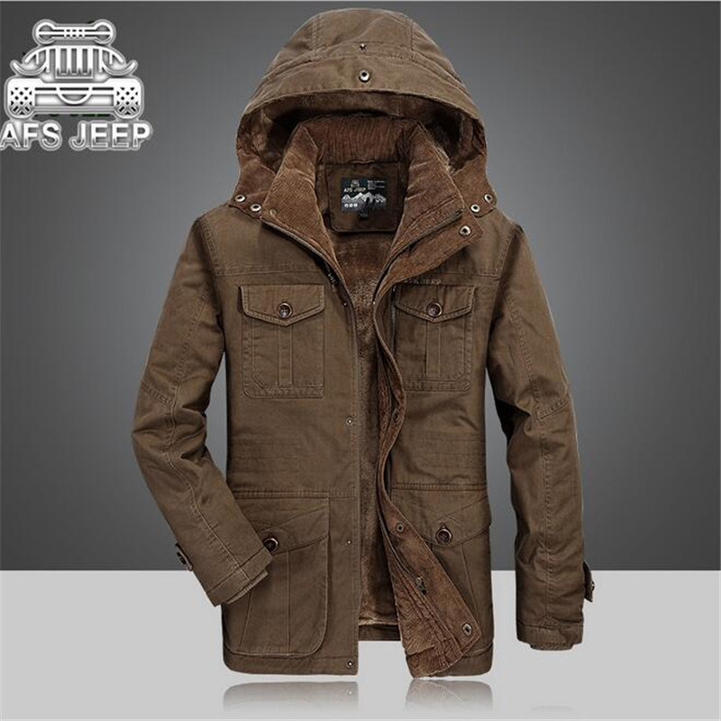 Men Winter Brown Coat Promotion-Shop for Promotional Men Winter ...