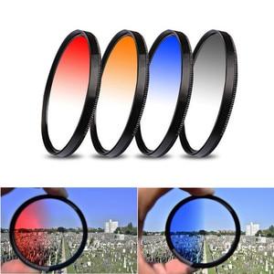 Image 4 - UV CPL ND FLD Afgestudeerd Close Up Star Filter Zonnekap voor Canon EOS 77D 80D 100D 200D 250D 760D 800D 1000D 1100D 1200D 18 55mm