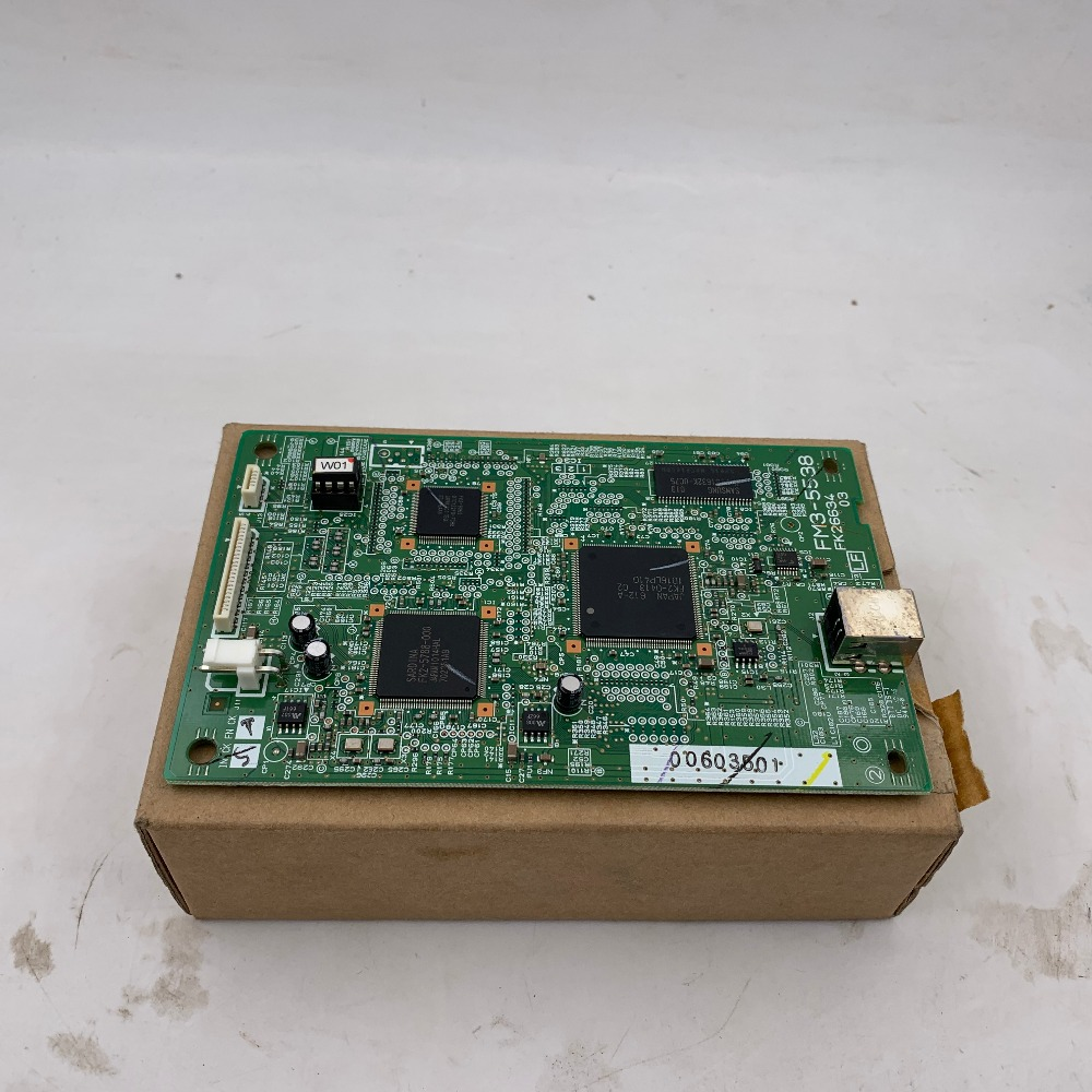 FORMATTER PCA ASSY Formatter Board Logic Main Board MainBoard For Canon LBP5050 5050 FM3-5538