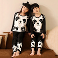 100% Algodón de la Panda de Dormir Kids Pijamas Para Niños Y Niñas Niños Pjs Pijamas Enfant Niño Ocio Desgaste del Bebé ropa