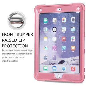 Image 2 - Shockproof Heavy Duty Rubber Hard Stand Case Cover For iPad 9.7 2018 Case 6th Gen A1893  A1954 2017 5th Gen A1822 A1823