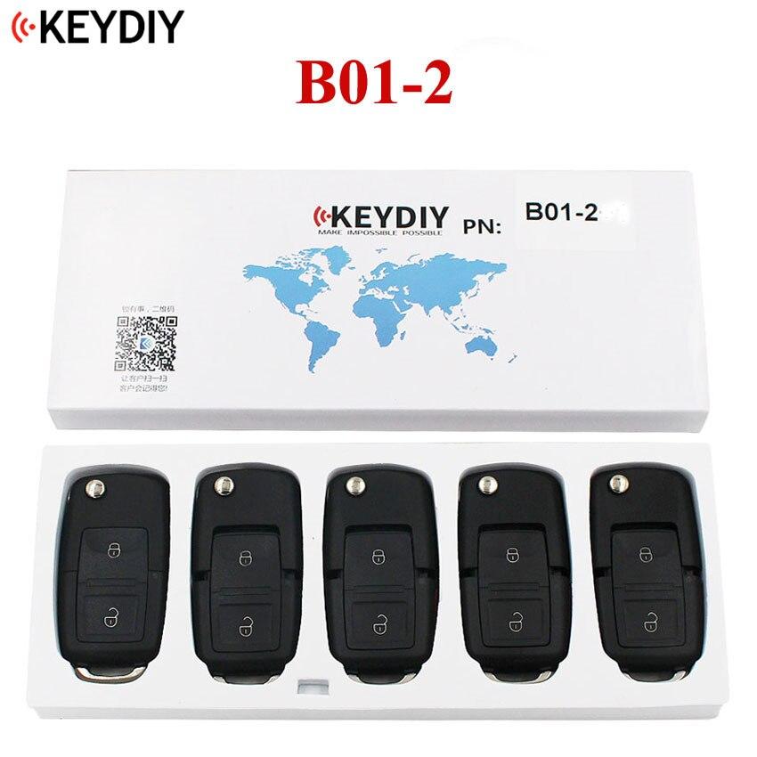 5 PCS LOT KEYDIY Universal Remote Control Key B Series for KD X2 KD MINI KD900