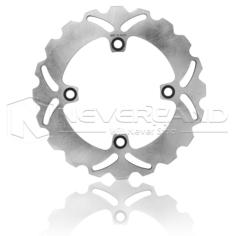 New Motorcycle Rear Brake Disc Rotor for Honda CBR 600F 91-07 Triumph DAYTONA T955i 99-06 keoghs motorcycle brake disc brake rotor floating 260mm 82mm diameter cnc for yamaha scooter bws cygnus front disc replace
