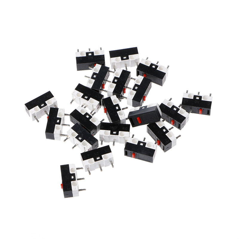 10X Button Switch 3Pin Mouse Switch Microswitch For RAZER Logitech G700 Mouse JK