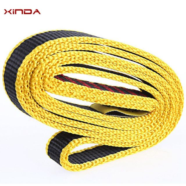 Safety Climbing Sling Load Bearing Strap Flat Belt Outdoor Rope 21mm 80cm