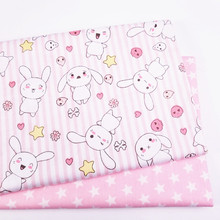 Baby Girl Bed Sheet Cotton fabric Kids cloth for DIY Sewing Quilting Fat Quarters Material For Baby&Child
