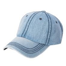 Curvo Pico Chapéu HipHop chapéu das Mulheres ajustáveis Strapback Boné de  Beisebol Masculino cap Cowboy Denim 68be1b13946