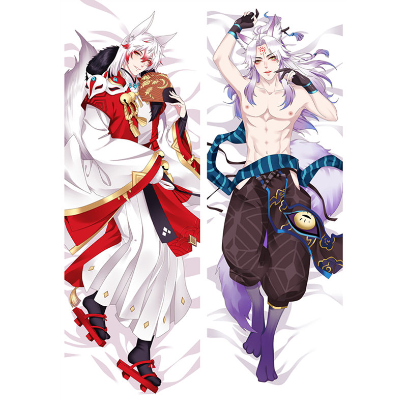 Anime Game Onmyoji Pillow Covers Dakimakura Case Cool Boys 3D Double-sided Bedding Hugging Body Pillowcase Customize OL02A