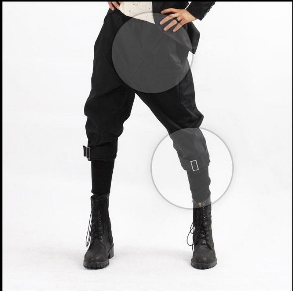 Costumes Harem-Pants Capris Boot-Cut-Trousers Nightclub Plus-Size New-Fashion HOT Culottes