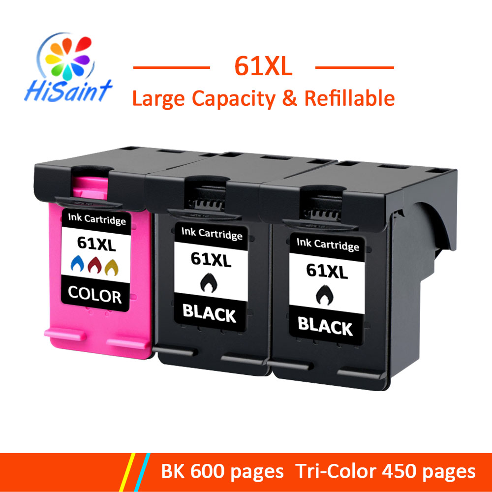 1000 1010 us $30.58 5% off hisaint 61 xl bk color ink cartridge for hp61 deskjet 1000  1010 1050 printer for hp 61 free shipping-in ink cartridges from computer