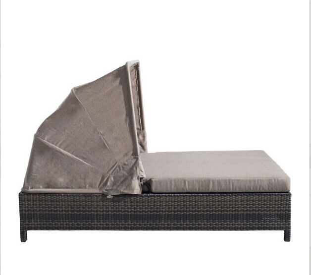 Online get cheap daybed double alibaba group for Sofas de ratan para jardin