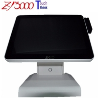 new stock 15 inch pos system windows 10 all in one pos system