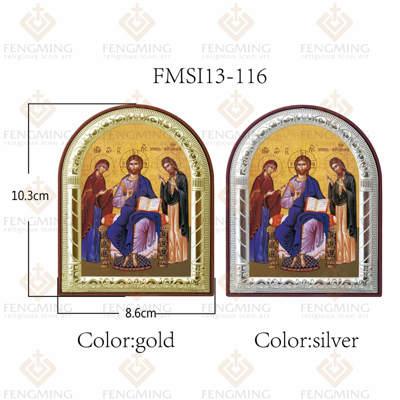 İsti Satış Katolik Dini Heykəllər Məsih Allahın Anası və - Ev dekoru - Fotoqrafiya 5