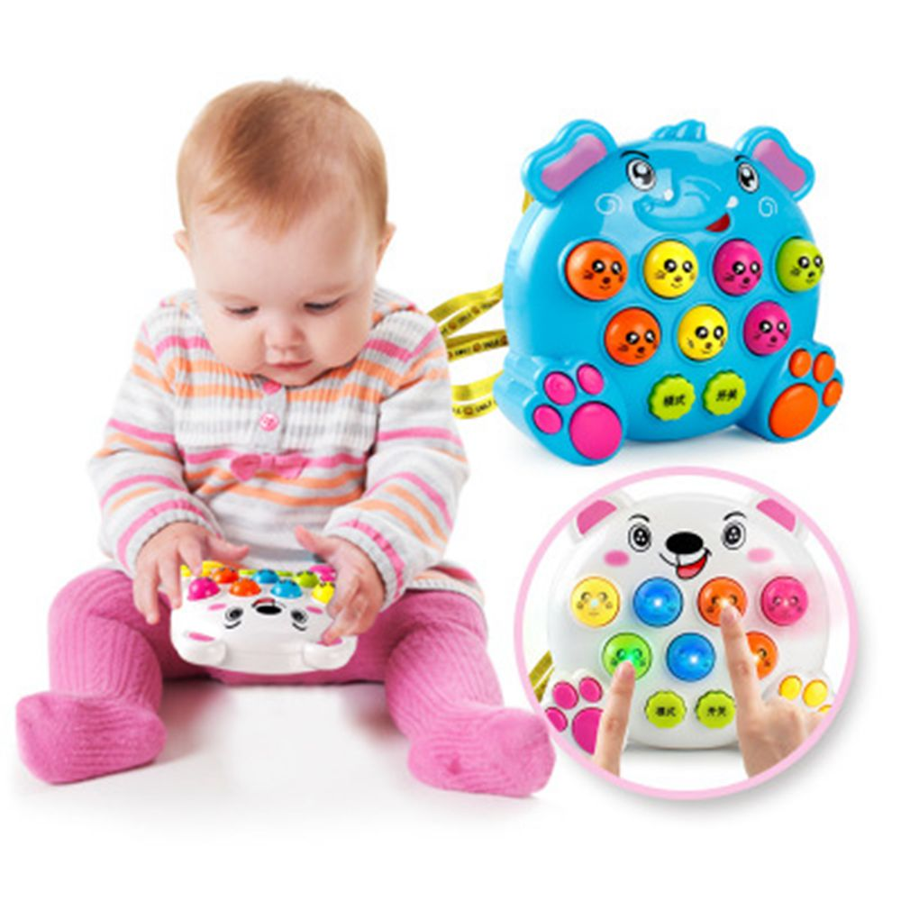 Kids' Fight Rat Game Machine With Electronic Handheld Design With Light & Music Funny Cool Game For Children