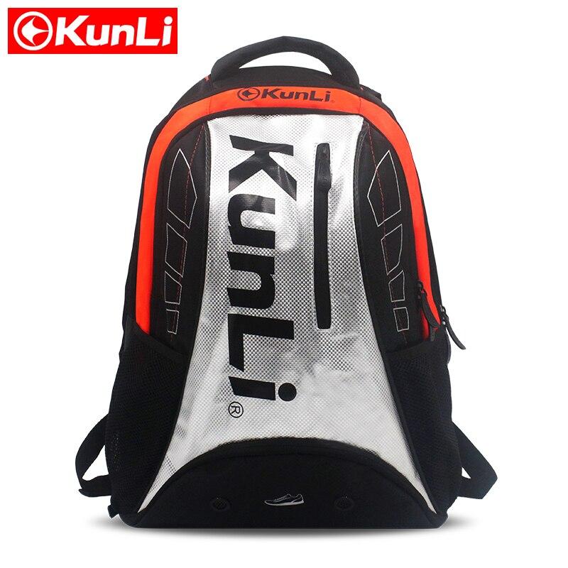 2017 новые KUNLI Теннис ракетка мешок большой Ёмкость для 35l Бадминтон сумка спортивная raquetas де Tenis рюкзак Открытый чванство мешок