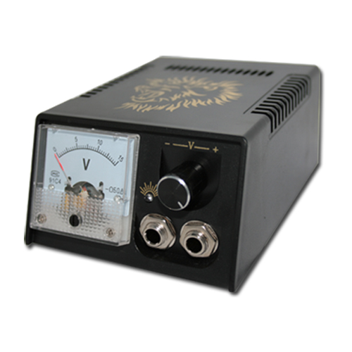 Digital LCD Tattoo Power Supply High Quality Black Tattoo Power Supply For Tattoo Machine