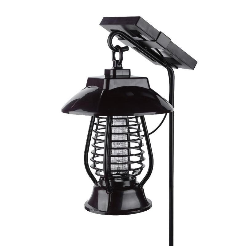 Солнечная панель светодио дный светодиодная Москитная лампа IP64 водостойкая лампа от насекомых для сада дворовая ловушка
