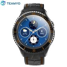 Teamyo i2 Bluetooth Smart Uhr Android 5.1 MTK6580 Unterstützung WIFI 3G GPS Google Play Karte Wirklich Smartwatch für Android-Handy
