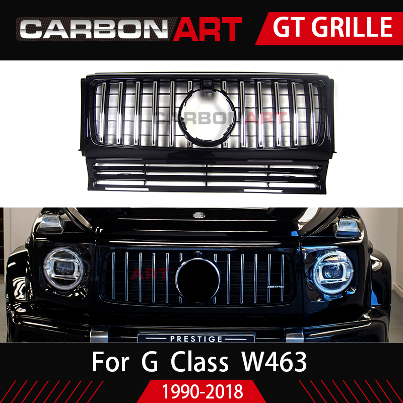 Carbonart W463 GT grille fit for mercedes G class G500 G55 G63 to 1991 2016 year
