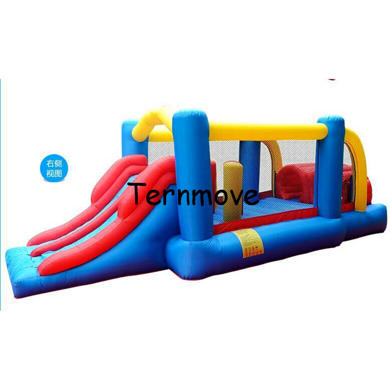 commercial jumping castle sale Inflatable Trampolian happy bouncer house for kids-indoor inflatable toys mini bounce house inflatable small bouncer for ocean balls indoor structures inflatable toys for kindergarten inflatable mini bouncer