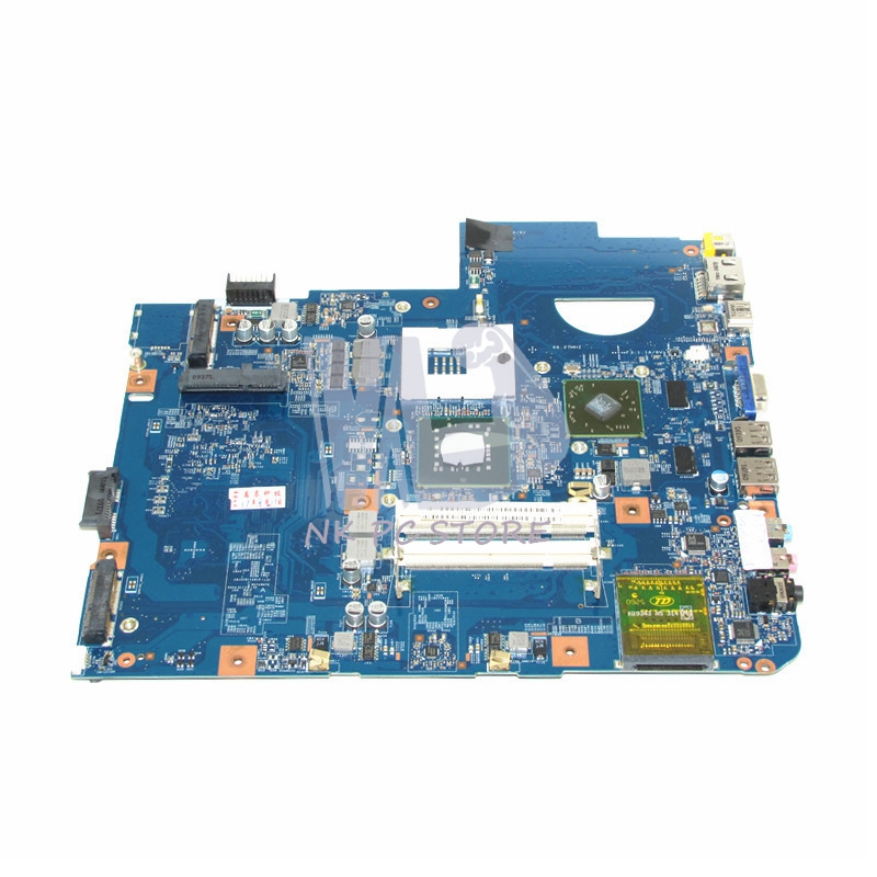 NOKOTION Laptop motherboard For Acer aspire 5738 Main Board GM45 DDR2 HD4500 Free CPU MBP5601015 MBPKE01001 48.4CG07.011 nokotion la 5481p laptop motherboard for acer aspire 5516 5517 5532 mbpgy02001 mb pgy02 001 ddr2 free cpu mainboard
