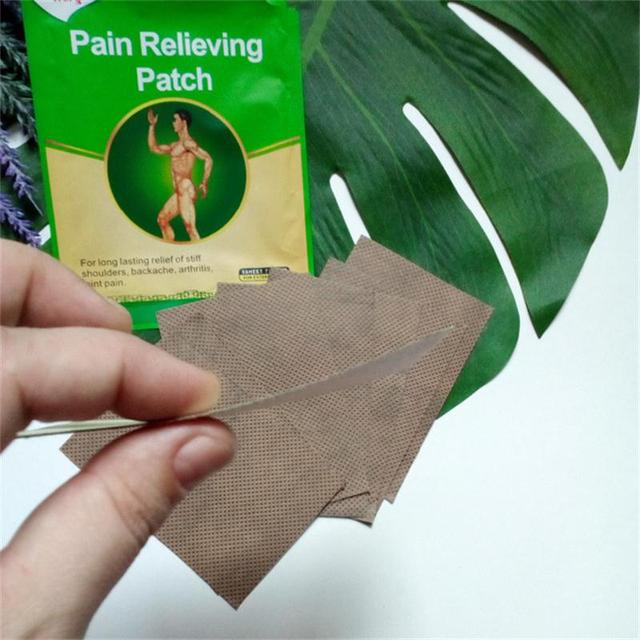 Ifory 8 Pieces/Bag Capsicum Plaster Chinese Far Infrared Pain Patch Health Care Medical Pain Relief Pad Better than Salonpas