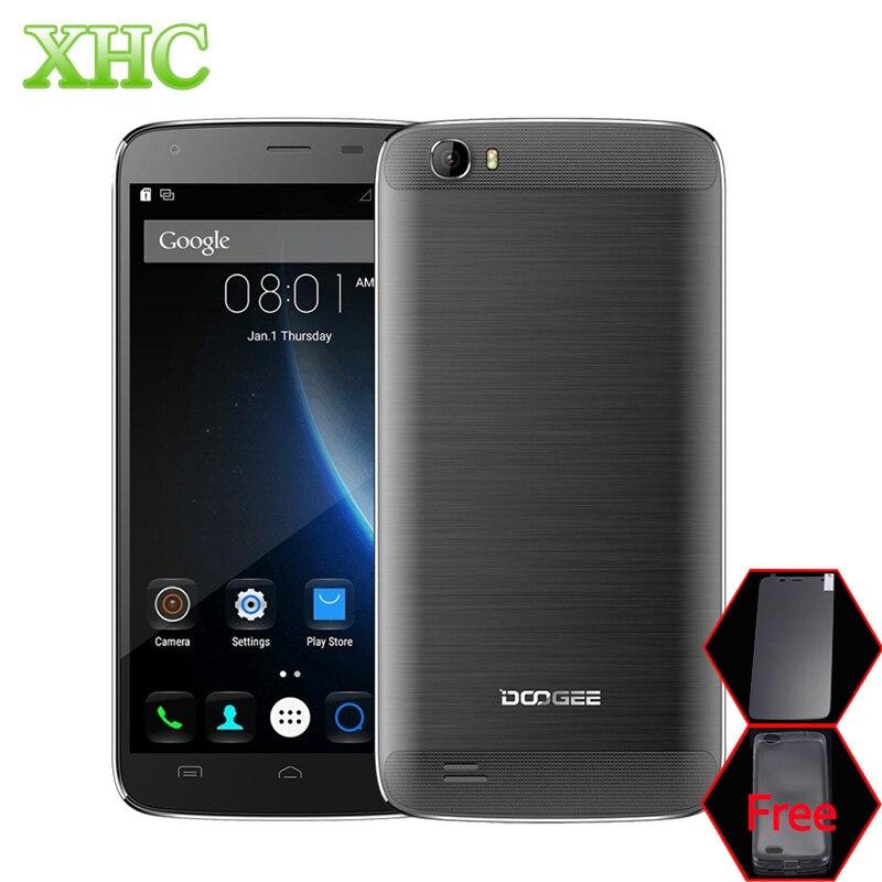 Цена за Doogee t6 pro мобильный телефон 6250 мАч 4 г lte android 6.0 смартфон MT6753 Octa Ядро 5.5 ''13.0MP ОЗУ 3 ГБ ROM 32 ГБ СМАРТ Сотовый телефон