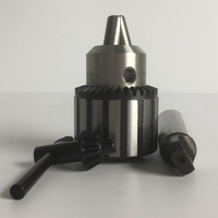 Heavy type precision steel drill chuck adapter 1 13mm with drill arbor B16 MT3 for mini lathe and bench drill machine