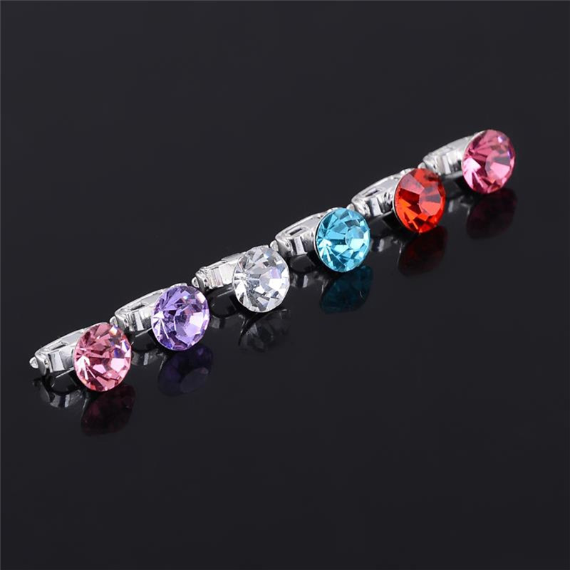 10pcs Sweet Single Row Imitation Pearl Hair Pins Lovely Small Round Crystal Hair Clip for Women Hair Accessories