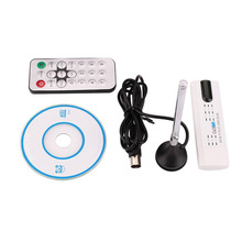 BCMaster USB Digital TV Tuner Stick DVB T2 T C DVB FM DAB Recorder Receiver Cable