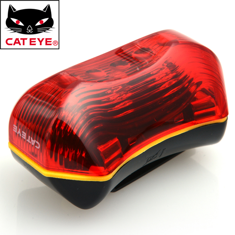 CATEYE TL-LD170-R Bike Bicycle Led Front Rear Light Lamp Flashlight Outdoor  Sports Cycling Light Lamp Bicycle Accessories Red