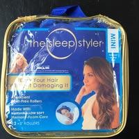 MODOAO The Sleep Styler Mini 12 Pieces/Bag Curl Cotton Hair Stylers Blue Sleep Styler