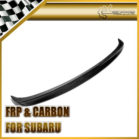 Car Styling For Subar BL BP 2004-2008 Legacy Carbon Fiber Rear Ducktail Spoiler