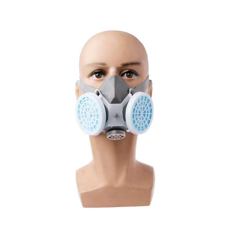 Antipolvo respirador máscara filtro Industrial pintura pulverización protección facial