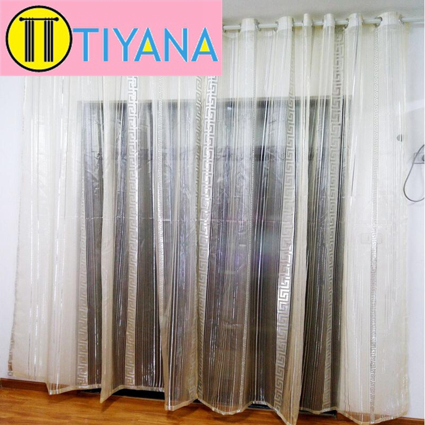 Online get cheap sheer silver alibaba group - Stylish window treatments ...