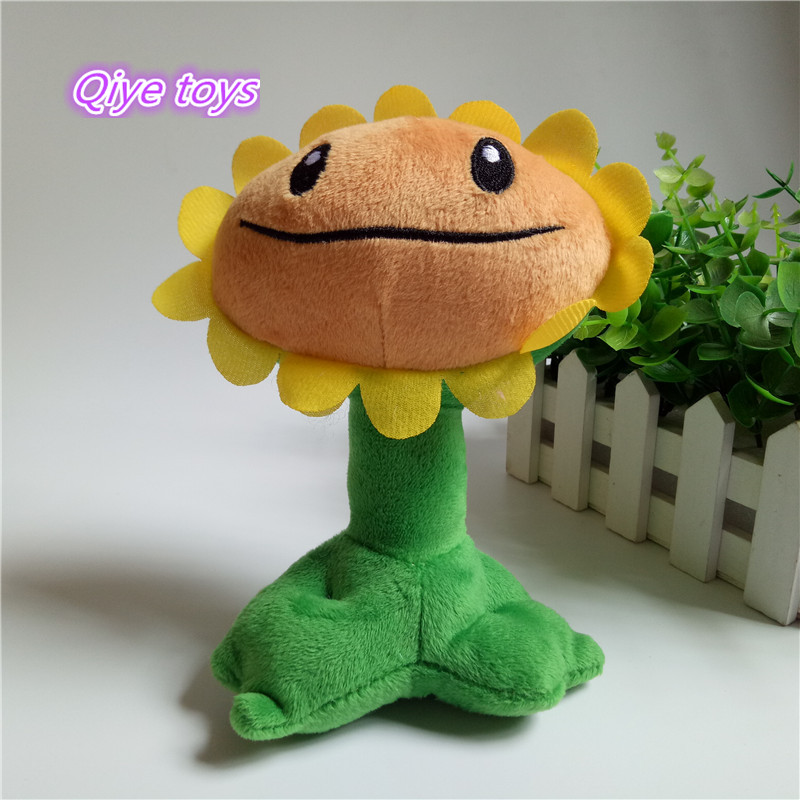 cute child gift plant vs zombies sunflower plush toyscute child gift plant vs zombies sunflower plush toys