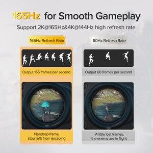 Image 3 - Ugreen DisplayPort 1.4 câble 8 K 4 K HDR 165Hz 60Hz adaptateur de Port daffichage pour vidéo PC ordinateur portable TV DP 1.4 1.2 affichage vPort 1.2 câble