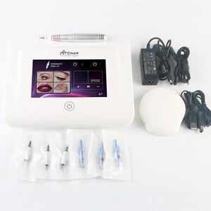 Image 4 - New Artmex V11 Pro Digital Eyebrow Lip Tattoo Machine Permanent Makeup Micro needle Therapy Device MTS PMU System