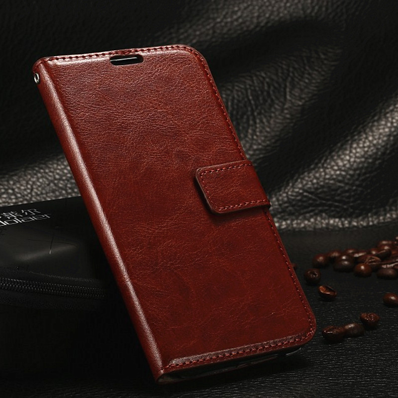 Luxury Retro Leather Case For HTC One M8 Flip Cover Wallet Cases for HTC One M7 M8 MINI M9 A9 phone shell