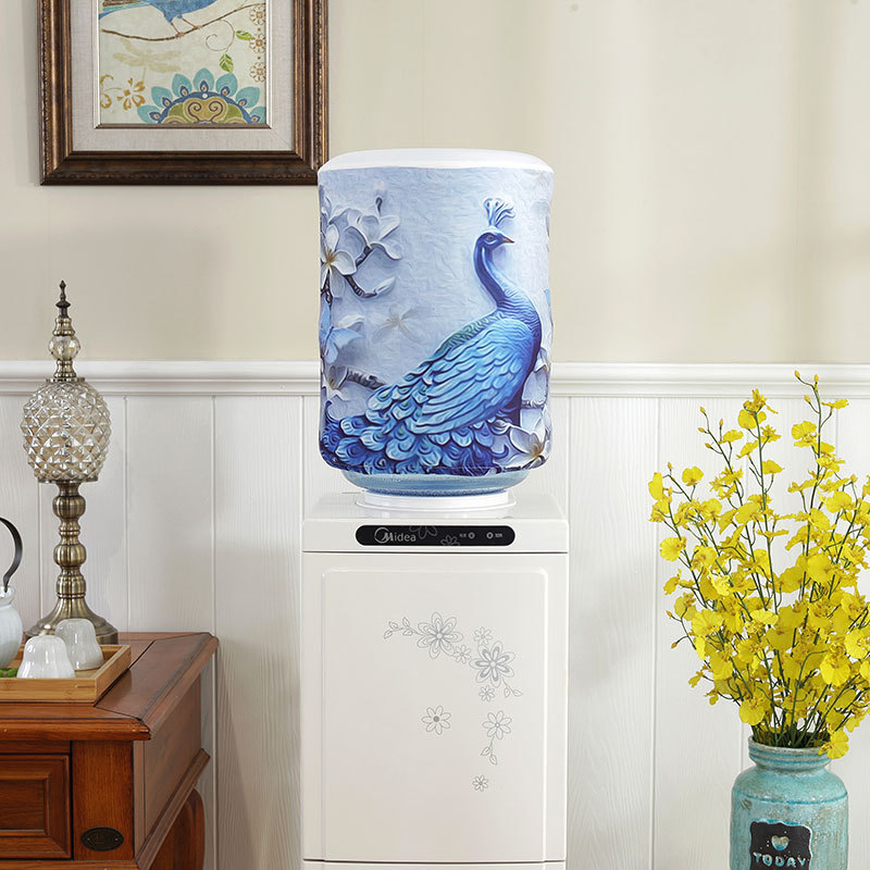 New Korean version of the elastic water dispenser barrel cover water dispenser cover fabric dust cover FC01