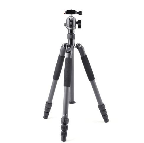 Sirui ขาตั้งกล้อง Professional คาร์บอนไฟเบอร์กล้องขาตั้งขาตั้งกล้องเดินทางสำหรับกล้องดิจิตอลอุปกรณ์เสริม Photo Studio T024SK + B00K-ใน ขาตั้งกล้อง จาก อุปกรณ์อิเล็กทรอนิกส์ บน AliExpress - 11.11_สิบเอ็ด สิบเอ็ดวันคนโสด 1