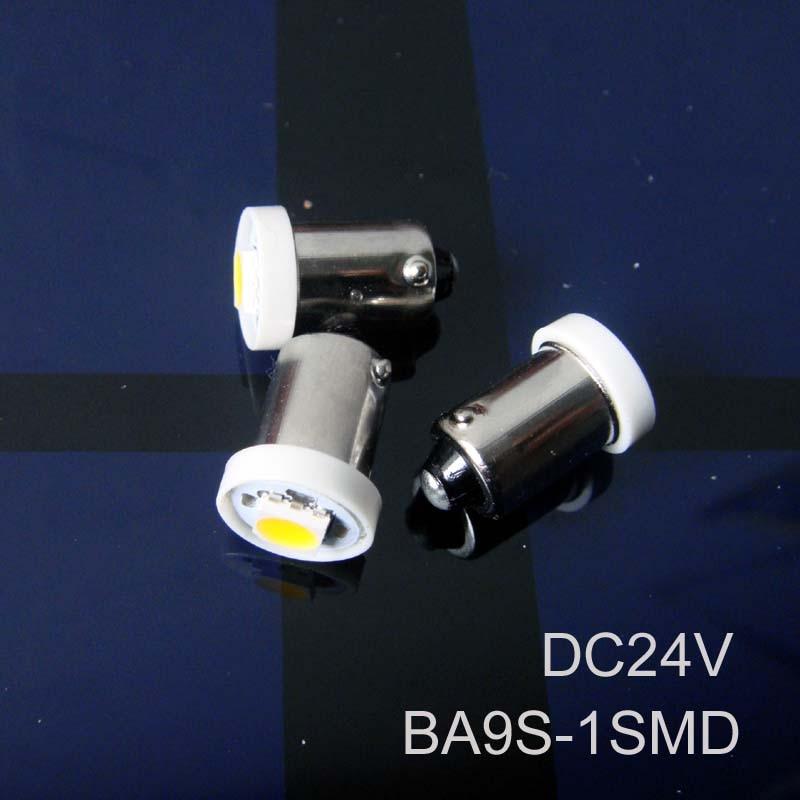 High quality 24V BA9s led light,BA9s led Car bulb 24v led BA9s Signal Light,Truck led Indicator Light free shipping 10pcs/lot